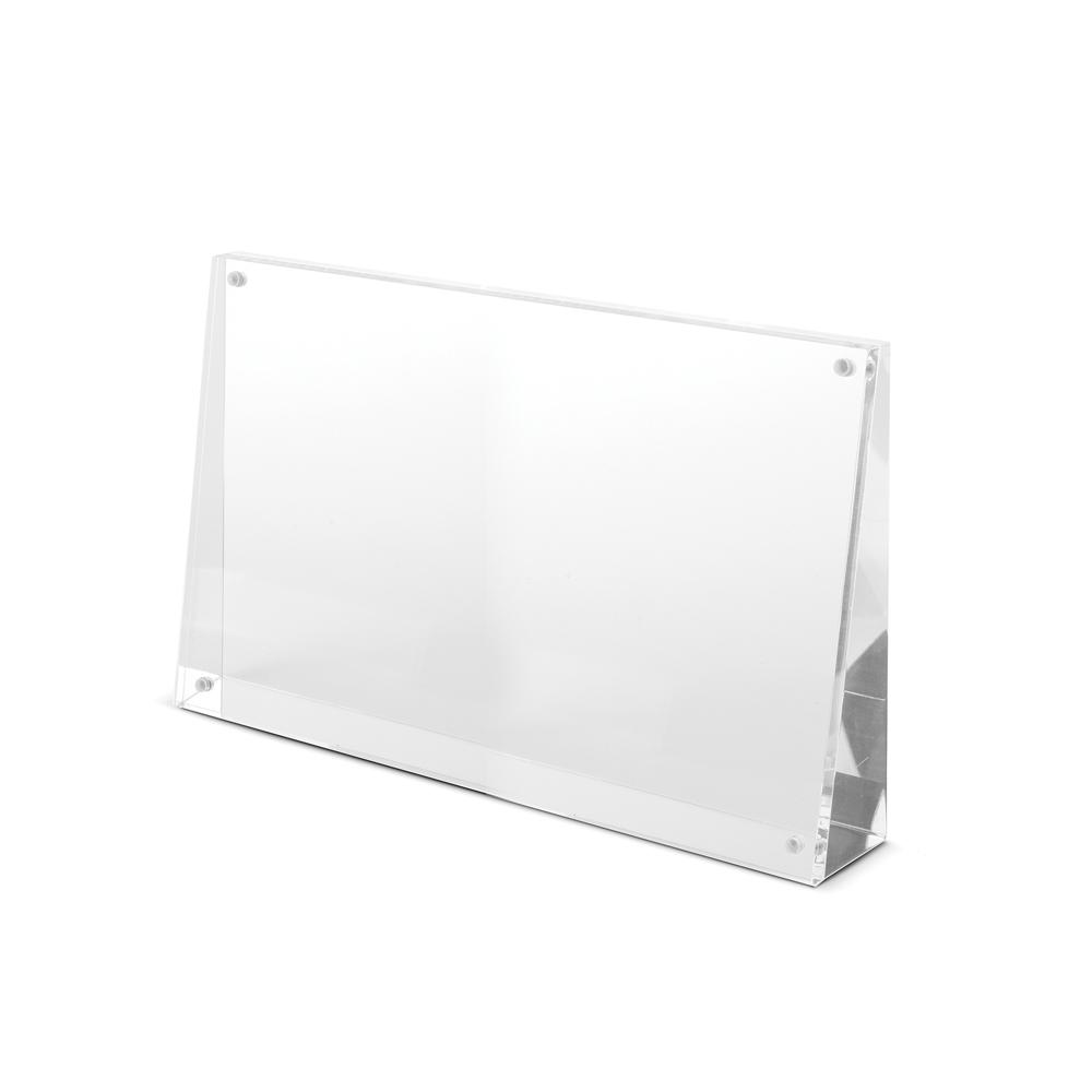 Spiga Acrylic Wedge Frame 4 X 6 | IMPULSE!